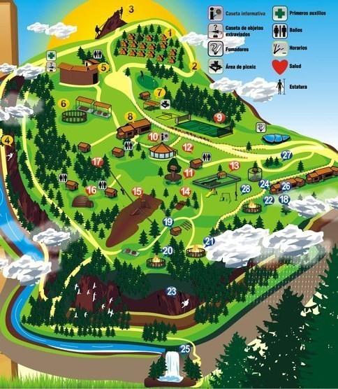 Mapa de nuestras instalaciones