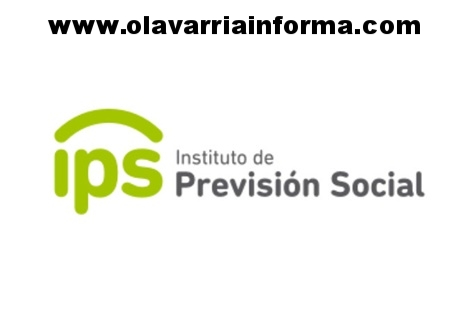 Cronograma de pagos del Instituto de Previsión Social