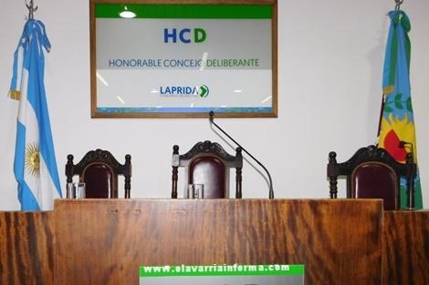 Orden del día: Secretaría Honorable Consejo Deliberante de LAPRIDA