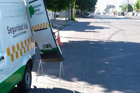 Fotomultas: se realizan controles de velocidad en la ciudad
