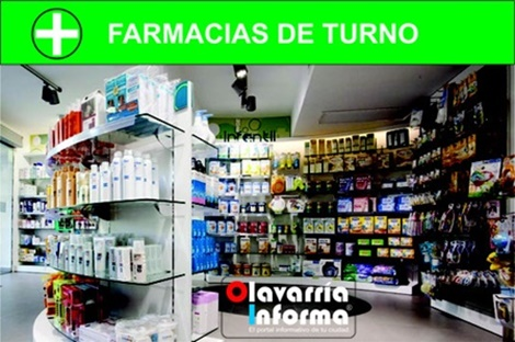 Farmacias de turno del día 04 de septiembre