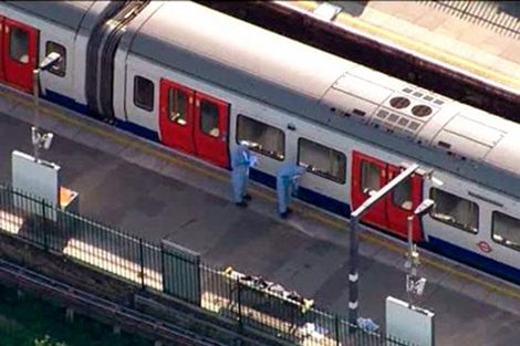 Explosión en el subte de Londres dejó 22 heridos