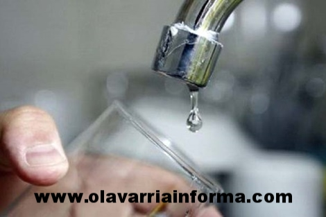 Baja presión de agua para este martes 24