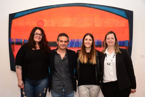 Mariano Tello inauguró su obra en el MDA