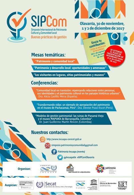 La FACSO organiza el Simposio Internacional de Patrimonio Cultural y Comunidad Local