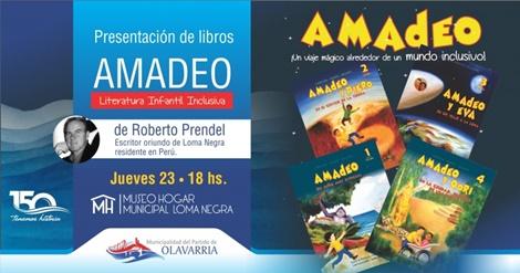 Amadeo se presenta en Loma Negra