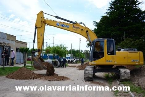 Obras en Facundo Quiroga II y Sarmiento Norte