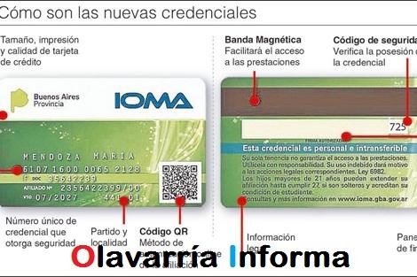 IOMA tendrá nuevas credenciales