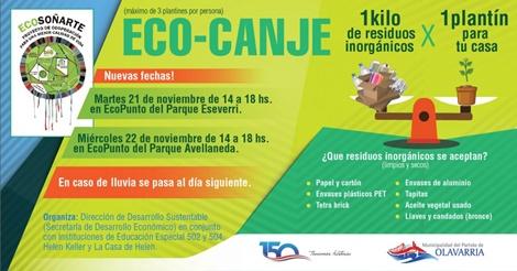 Eco – Canje: Martes y miércoles