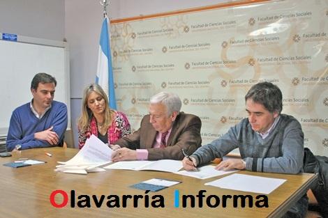 Se firmó un convenio entre la UNICEN y la Defensoría del Pueblo de la Provincia de Bs.As
