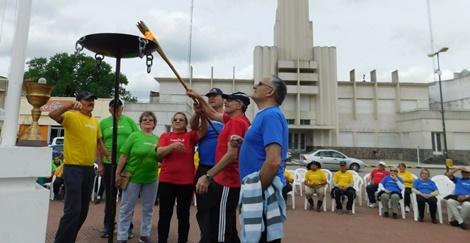 Comenzaron las olimíadas de Colores para adultos mayores LAS OLIMPIADAS DE COLORES PARA ADULTOS MAYORES