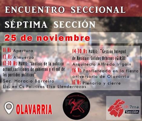 Encuentro Seccional de la Juventud Radical en OLAVARRÍA