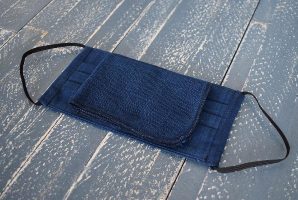 当て布は大判で、折りたたんで調整ができます。