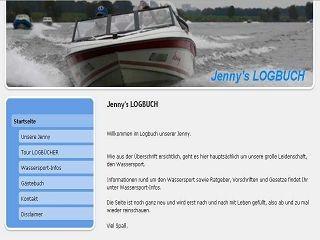 Jenny's LOGBUCH