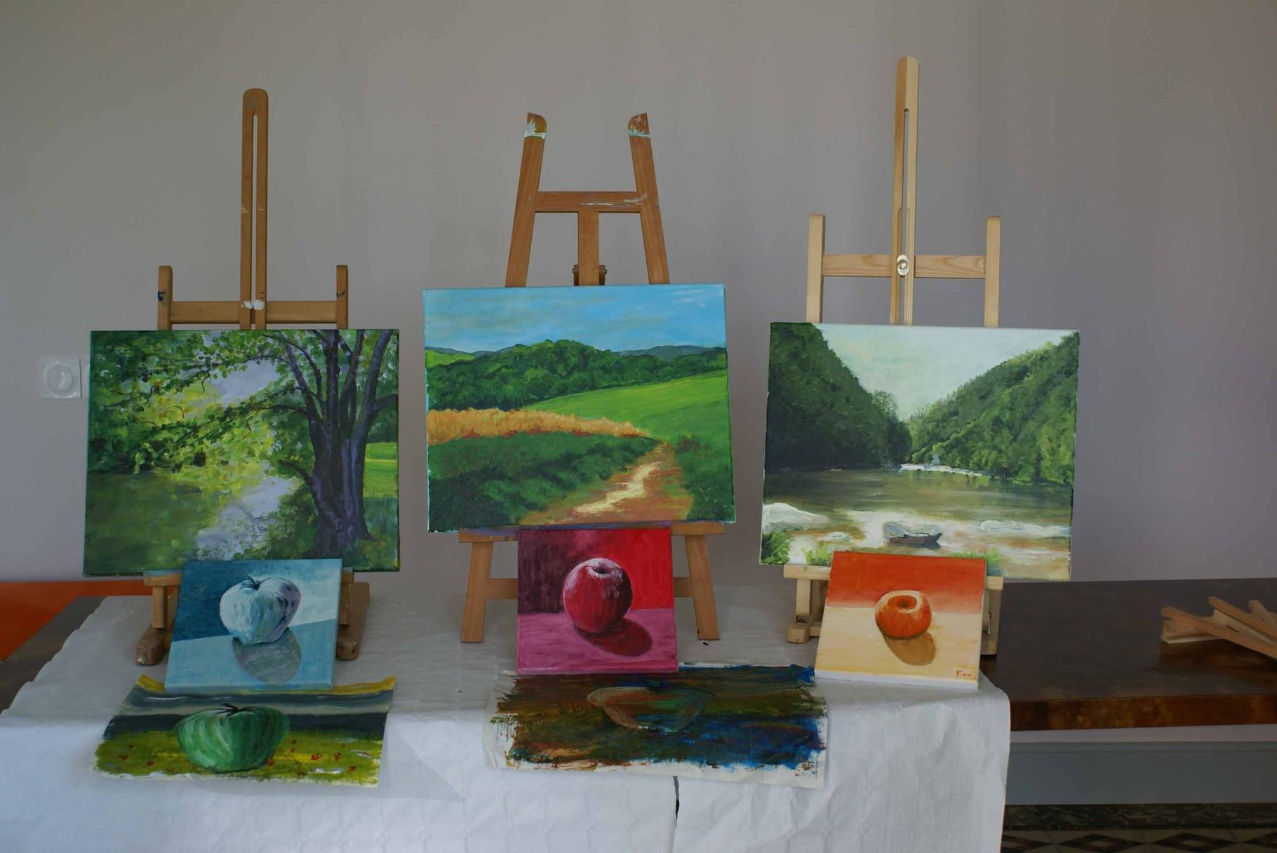 2014 Atelier peinture