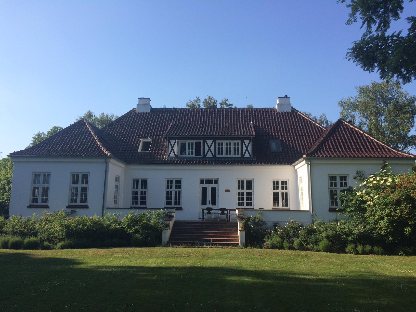 Haupthaus Gut Guldagergaard von der Rückseite
