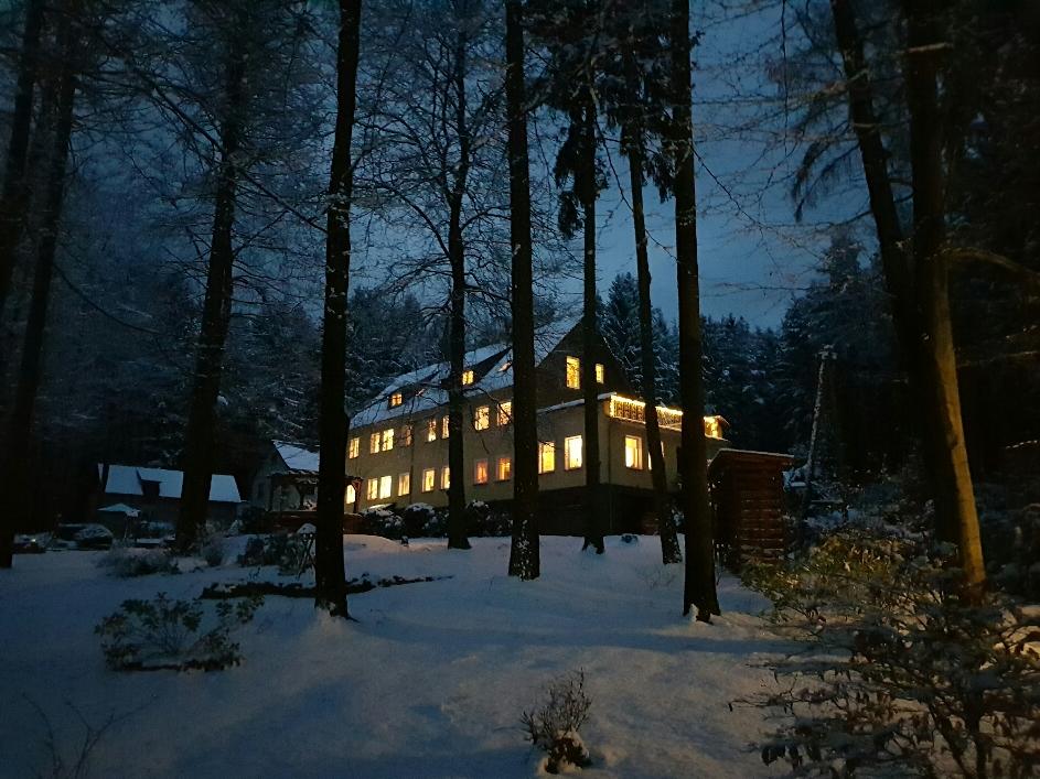 winterliche Abendstimmung