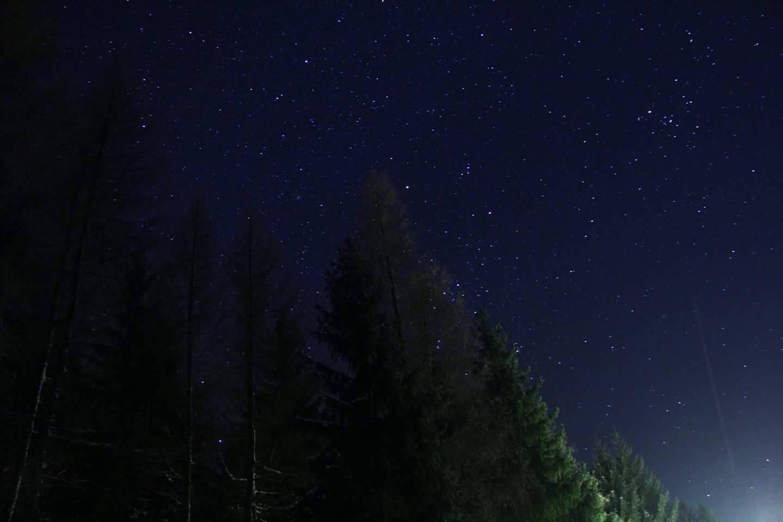 Genießen Sie den Blick in die Sterne