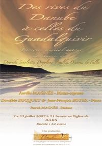 2007 Des Rives du Danube à celles du Quadalquivir