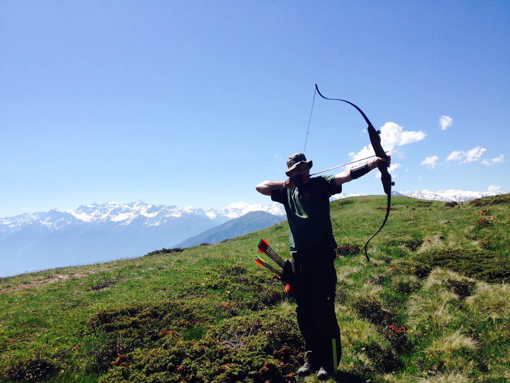 Oliver Hartmann in Süd Tirol