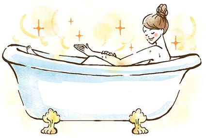 入浴 イラスト