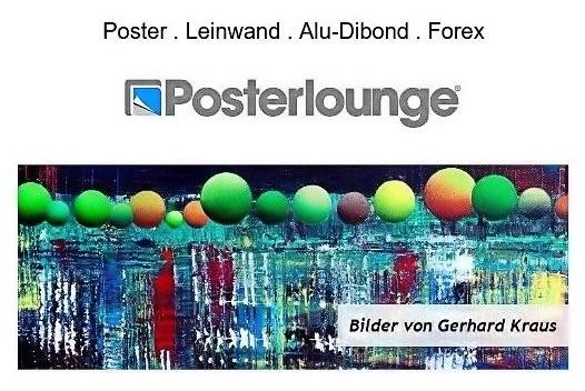 Poster, Leinwand, Alu-dibond, Forex, Posterlounge, Gerhard Kraus, Kriftel, Künstler, Kunst, Art, Illustration, Malerei, Grafik