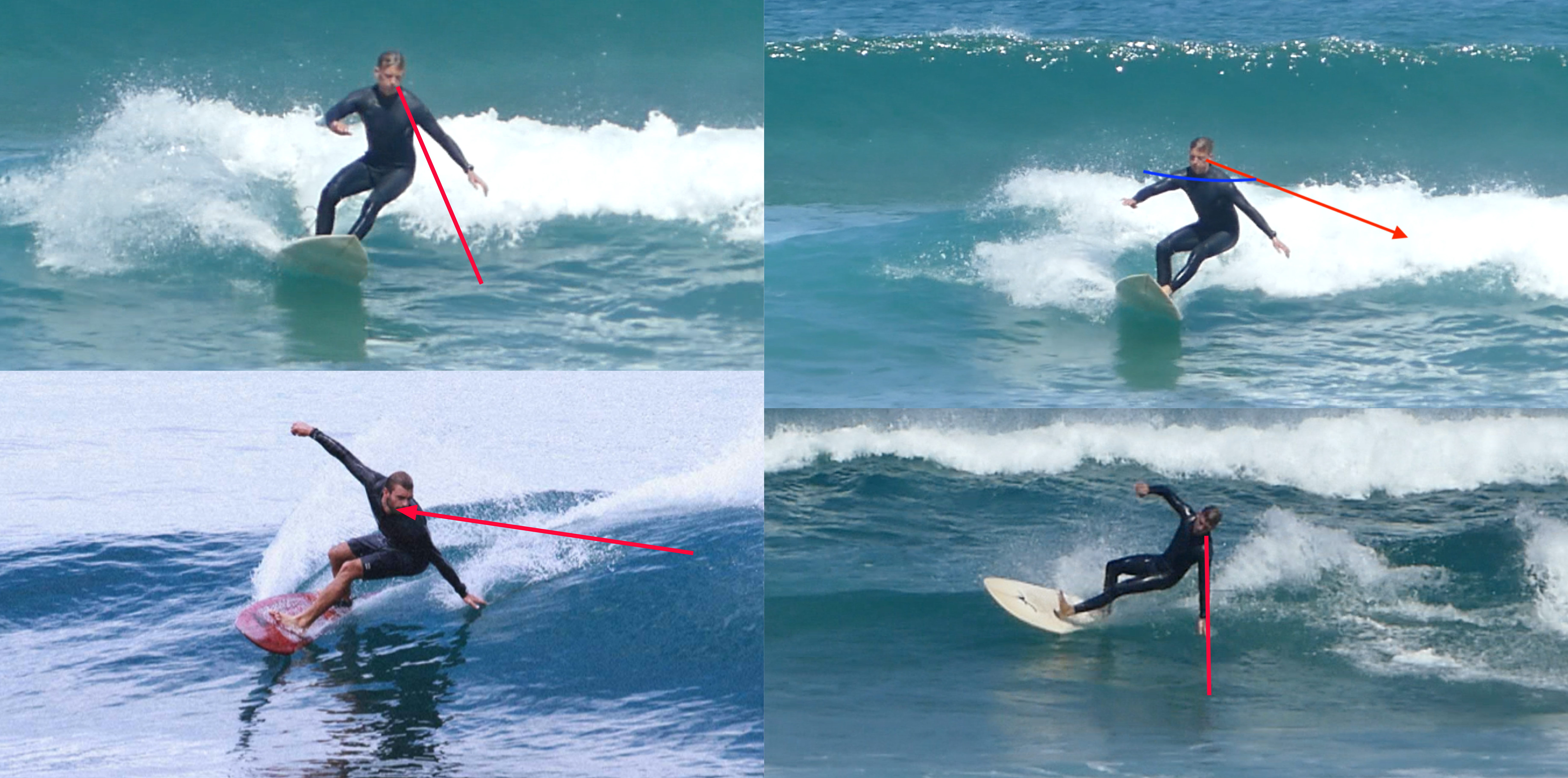 surf coaching how to do a round house cutback Justin West Coaching
