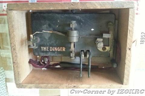 The Dinger just arrived, into oak case