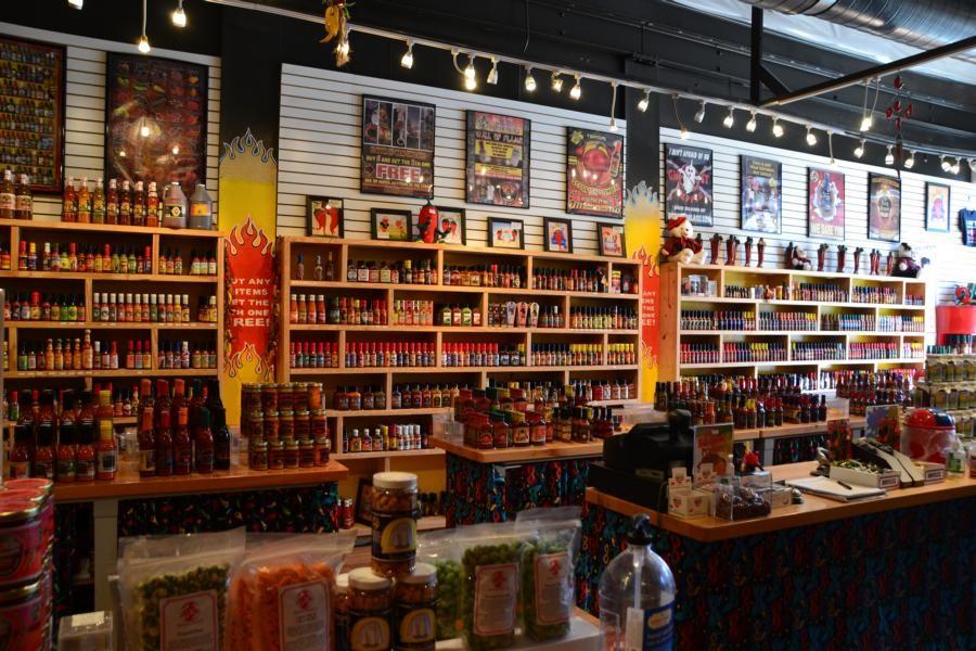 New Orleans: Toller Laden mit hunderten Saucen