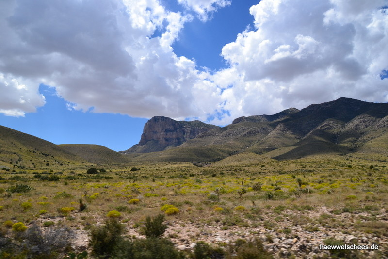 Die Guadalupe Mountains