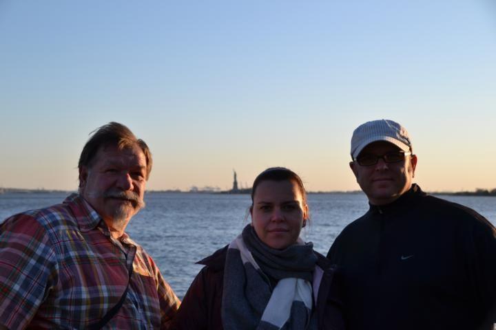 New York mit Martina und Björn