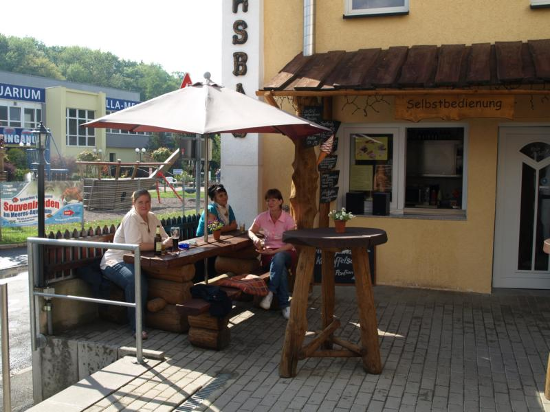 In Thüringen bei Freunden und Orig. Bratwurst bunkern für Norwege