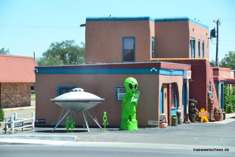 Die ersten Aliens in Roswell