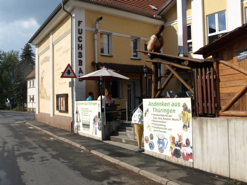 In Thüringen bei Freunden und Orig. Bratwurst bunkern für Norwegen