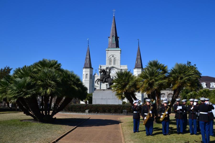 New Orleans: Gedenktag an die Schlacht von New Orleans am 8. Januar 1815 im britisch-amerikanischen Krieg