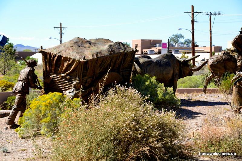 Kunst vor dem Albuquerque Museum