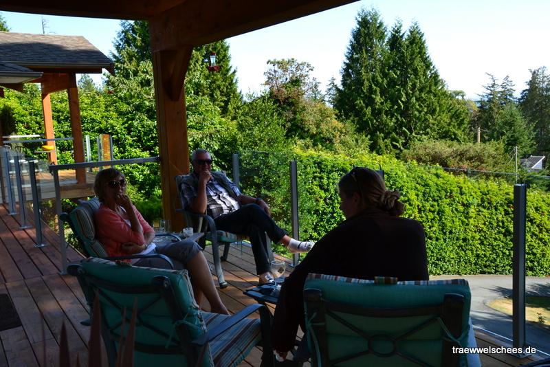 Besuch bei Debbi und Dik in Sechelt an der Sunschein Cost