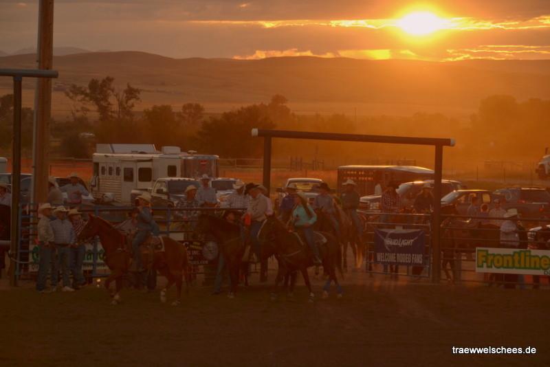 Cowboy-Abendstimmung