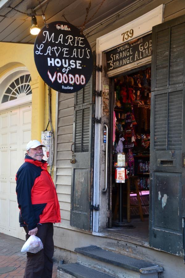 New Orleans: Marie Laveau's House of Voodoo (die Voodoo-Königin)