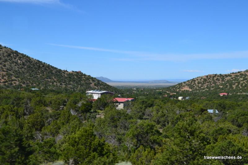 Kurz hinter Santa Fe