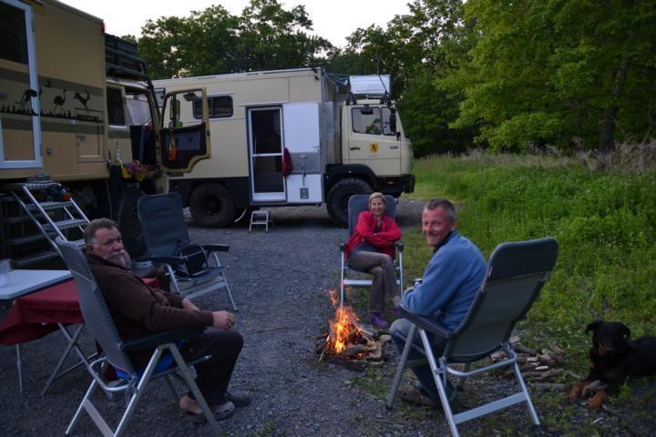 Camp im Delaware State Park