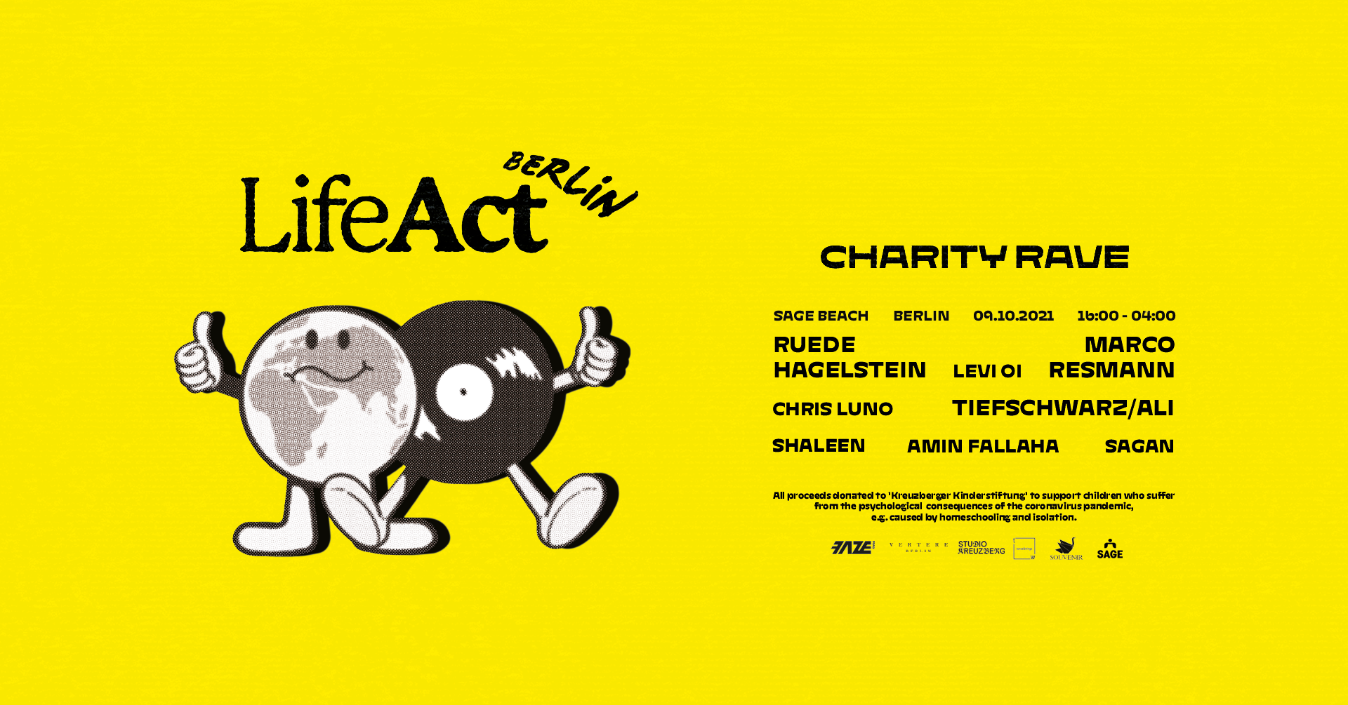 PUSH HARD supports Life Act - Charity Event Oct 2021