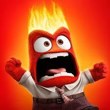 """""""Colère"""" dans le film d'animation Vice Versa (Disney/Pixar)"""