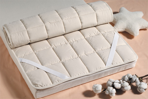 prot ge matelas en coton bio ou laine lunaviolette e boutique. Black Bedroom Furniture Sets. Home Design Ideas