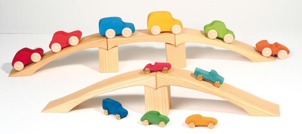 Grimm's voitures et ponts en bois