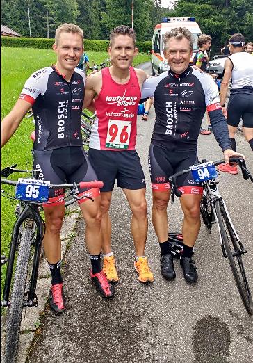 Robert, Steffen und Vater Günter gewinnen die Familienwertung