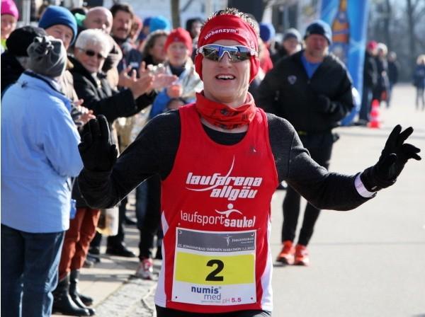 2. Gesamtrang in Bad Füssing beim 22. Johannesbad-Thermenmarathon in 02:39:25 Stunden (Foto: (c)Marathon4you.de)