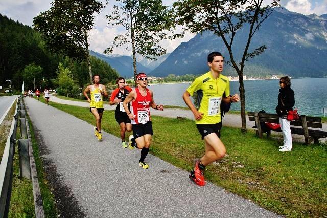Geglücktes Comeback für Steffen beim Achenseelauf in Pertisau mit dem 13. Gesamtrang und als bester Bayer