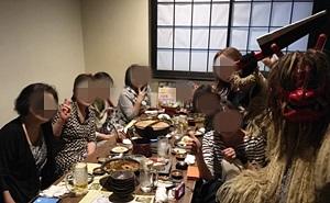 イバジョ+富岡の皆さんと夕食会