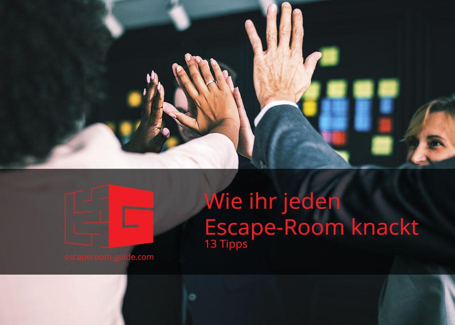 13 Tipps wie ihr jeden Escape-Room knackt auf escaperoom-guide.com